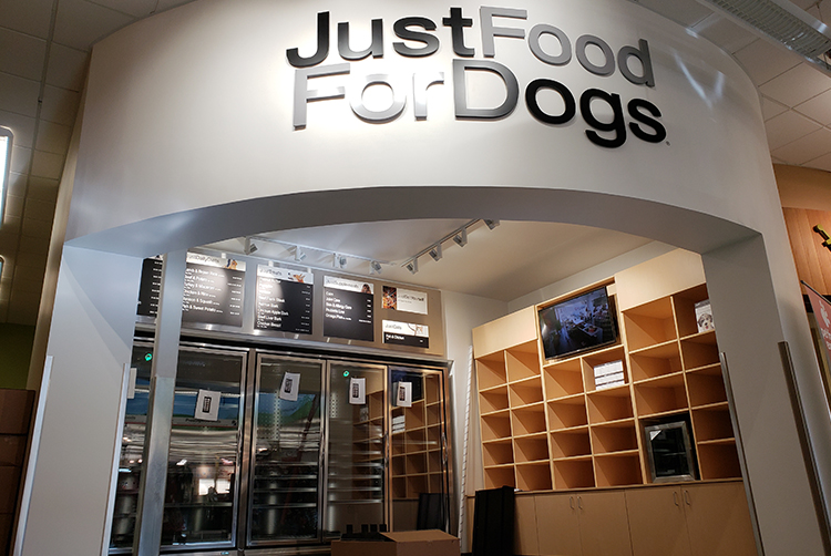 just food for dogs stealth construction portfolio