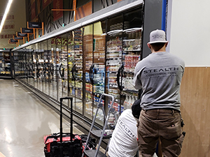 Refrigeration and energy upgrades Stealth Construction